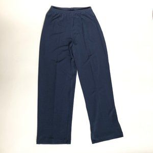 Double D Ranch M Blue Pull On Elastic Blue Pants